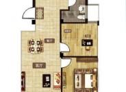 A户型 96㎡ 三室两厅一卫