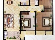 G1 三室两厅一卫  111m²
