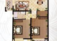 H1 三室两厅两卫  140m²