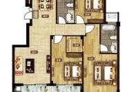 F户型 120㎡ 三室两厅两卫