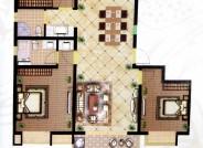 F 四室两厅两卫  141m²