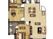 B户型 96㎡ 三室两厅两卫