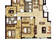 E户型 142㎡ 四室两厅两卫