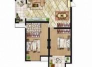A户型 三室两厅两卫 143.11㎡