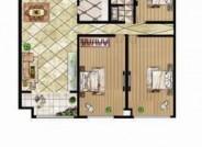 B户型 三室两厅一卫 134.67㎡