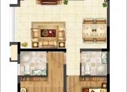 105㎡ 3室2厅2卫