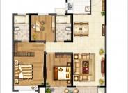 120㎡ 3室2厅2卫