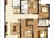 140㎡ 4室2厅2卫
