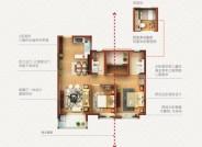 庐景,3室2厅2卫,100平米