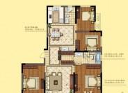 三期建面约164㎡ 四室两厅两卫户型