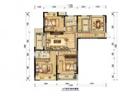 A户型,3室2厅2卫,145平米