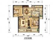 B户型,2室2厅1卫,99平米