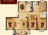 三期 建面约180.43㎡ 四室两厅两卫户型