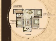 G2 三房两厅一卫 116㎡