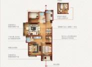 庐景,3室2厅2卫,110平米