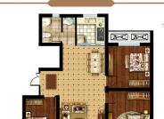 C户型 三室两厅一卫 112.04㎡