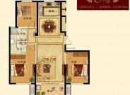 三期 建面约139.03㎡ 三室两厅两卫户型