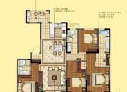 三期建面约177㎡ 四室两厅三卫户型