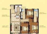 三期建面约145㎡ 三室两厅两卫户型