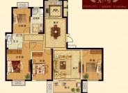 三期 建面约154.98㎡ 四室两厅两卫户型